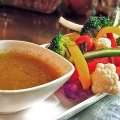 季節野菜のバーニャカウダ ¥1,280